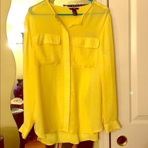Yellow Hm blouse preowned